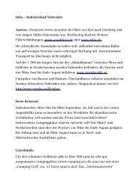 PDF_DOWNLOAD Radreiseland Schweden - Radtouren Magazin