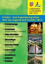 Programmheft Teil 1 - Landkreis Landsberg am Lech