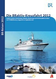 Die BRaktiv-Kreuzfahrt 2012 - Bayern 1 Radioclub