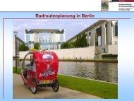 Radverkehrsplanung Berliner Senat
