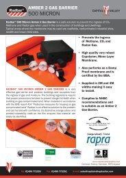 Radbar 500 Micron Gas Membrane - RIBA Product Selector