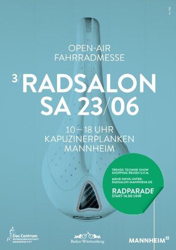 Radsalon Mannheim - Stadtmarketing-Mannheim