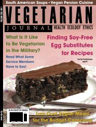 2012 Issue #1 - PDF - The Vegetarian Resource Group