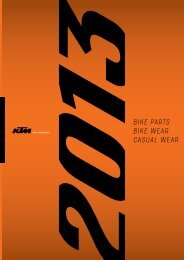 BIKE PARTS BIKE WEAR CASUAL WEAR - KTM