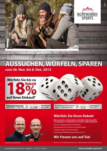 PDF 3 MB zum Downloaden - Schneider Sports