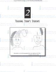 TEACHING TODAY'S STUDENTS - Jones & Bartlett Learning