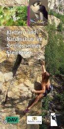 Klettern und Naturschutz im Schriesheimer Steinbruch Klettern und ...
