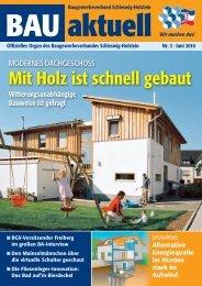 Bau aktuell 3-10:Layout 1 - Baugewerbeverband Schleswig-Holstein