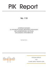 Complete Document (2.914 KB) - Potsdam Institute for Climate ...