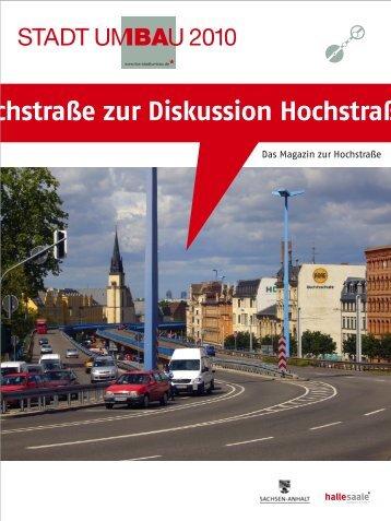 IBA-Magazin, Ausgabe 4, Druck - Stadt Halle (Saale)