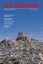 AUF DER KIPPE - Magazin zur Abfallpolitik - AWV