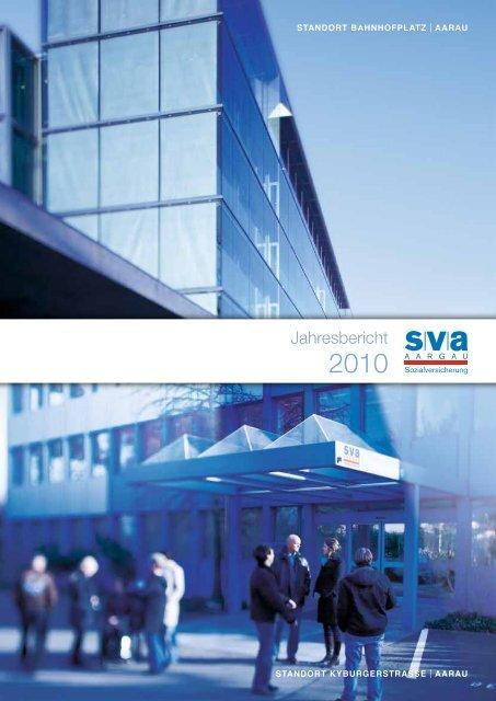 Jahresbericht 2010 (PDF, 838 KB) - SVA Aargau