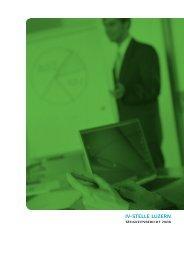 Jahresbericht 2008 - IV-Stelle Luzern