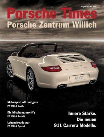 Ausgabe Juni/Juli 2008 - Porsche Zentrum Willich