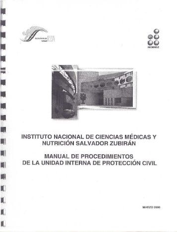 manual de procedimientos de la unidad interna de - Instituto ...