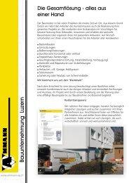 Bauunternehmung Luzern - Ammann AG