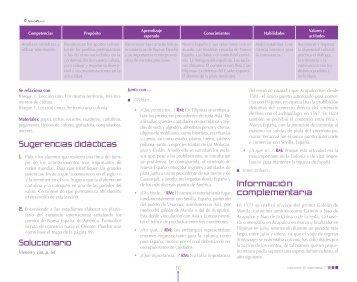 Parte 6 - Guías didácticas para el profesor. Editorial Nuevo México