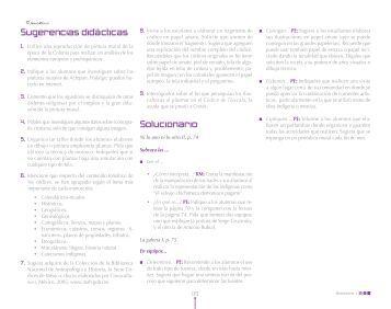 Parte 7 - Guías didácticas para el profesor. Editorial Nuevo México