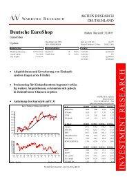 Mai 2011 - Deutsche EuroShop