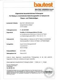 BAUTEST DRESDEN GmbH Allgemeines bauaufsichtliches ...