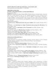 primeiro semestre exodo a deuteronômio e livros históricos - estef