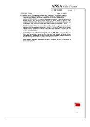 Rassegna Stampa Ottobre 2005 - FISE Valle d Aosta
