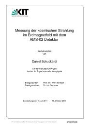 iekp-bachelor-ka/2011-4 - Institut für Experimentelle Kernphysik
