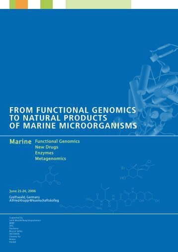 from functional genomics to natural products of marine ...