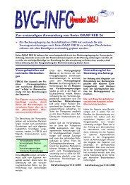 Zur erstmaligen Anwendung von Swiss GAAP FER 26 - ABCON AG
