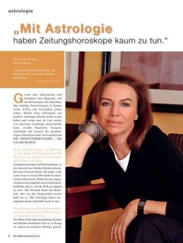 """""""Mit Astrologie - Hannelore Traugott"""
