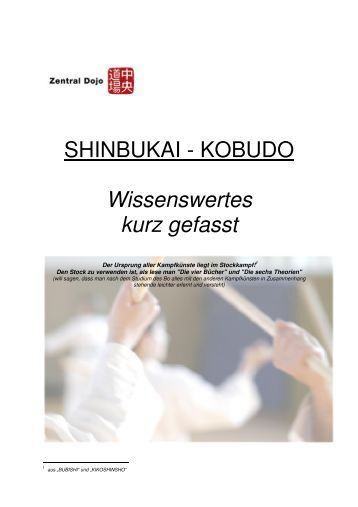 Kobudo Info (nicht nur) - Zentral-Dojo Braunschweig