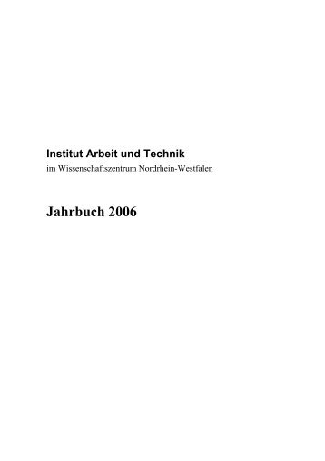 IAT Jahrbuch 2006 - Home