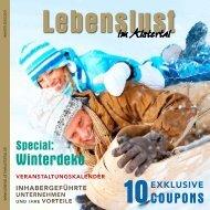 Winterdeko - Lebenslust Marketing