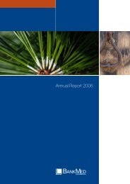 Annual Report 2006 - BANKMED (suisse)