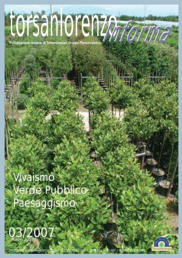Vivaismo Verde Pubblico Paesaggismo - gruppo torsanlorenzo