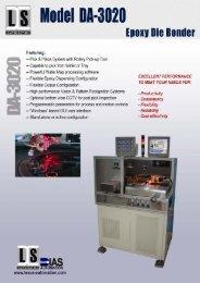 DA-3020 Automatic Die Bonder - Quasys