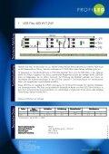 Katalog LED-Standardprodukte - profiled - Seite 6
