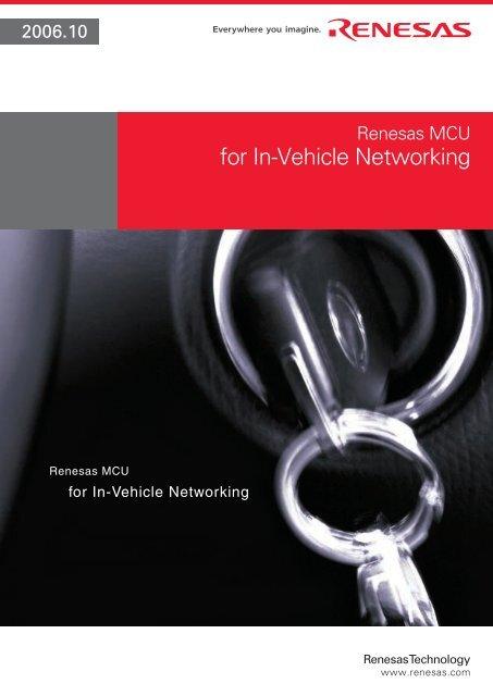 Renesas MCU for In-Vehicle Networking - Glyn
