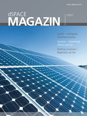 Download: dSPACE Magazin 1/2011