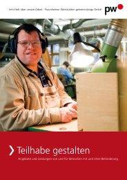 Teilhabe gestalten - Verlag Volker Herrmann Soziales Marketing