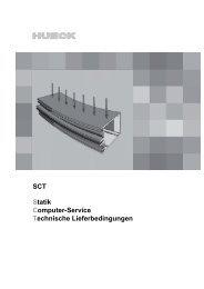 SCT - HUECK + RICHTER Aluminium GmbH
