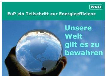 Vortrag U. Theil, Firma Wilo - enag