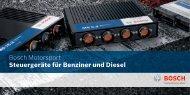 Bosch Motorsport Steuergeräte für Benziner und Diesel