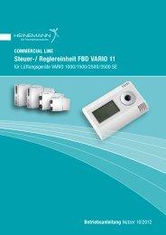 Steuer-/ Reglereinheit FBD VARIO 11 - Heinemann GmbH