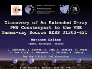 Discovery of An Extended X-ray PWN Counterpart to the VHE ...