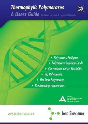 Polymerase Guide - Jena Bioscience