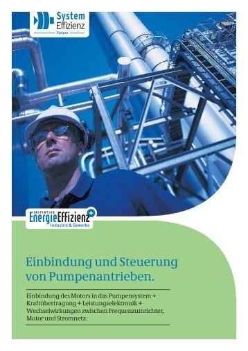 Einbindung und Steuerung von Pumpenantrieben. - Initiative ...