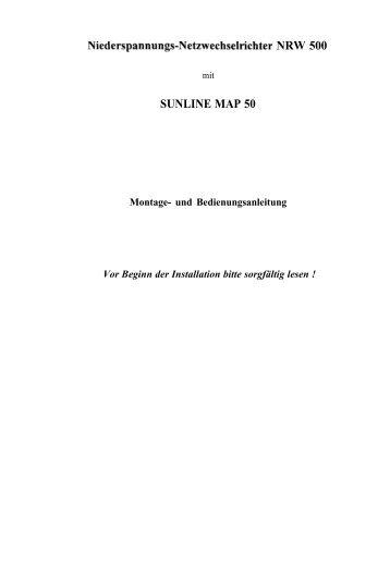 Niederspannungs-Netzwechselrichter NRW 500 - produktinfo ...