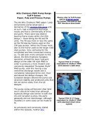 Peerless Pump Company Ind