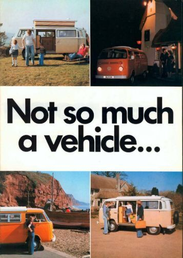 1978 Brochure Moonraker Sundowner - Devon Conversions of Type ...